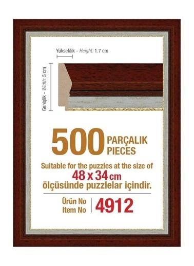 Educa Heidi 500 Parçalık Puzzle Çerçevesi 48X34 Cm 4912 Renkli